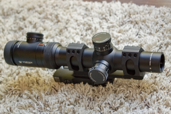 Vortex Viper PST 1-4x24 with AD-RECON Mount