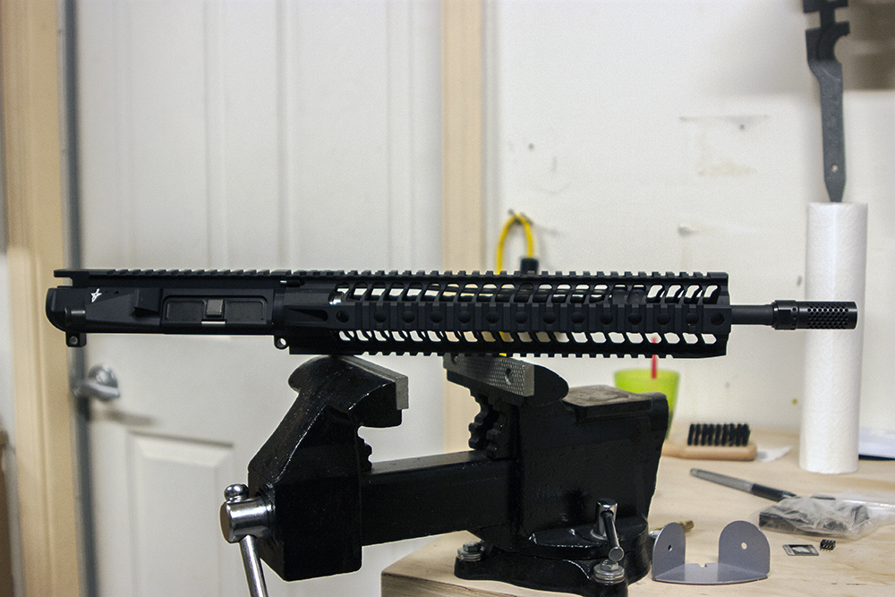 Seekins Precision / Spikes Tactical SAR Rail