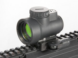 Trijicon MRO Left Side